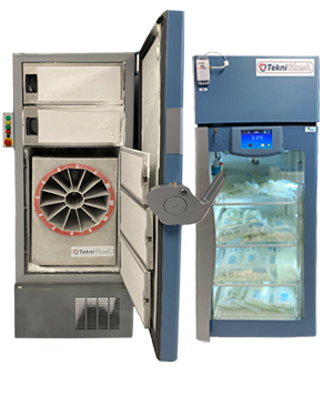 Ultracongelateur et frigo